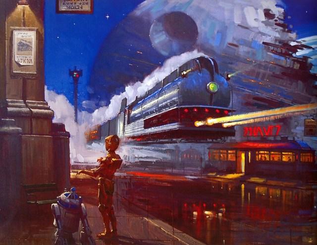star wars trains