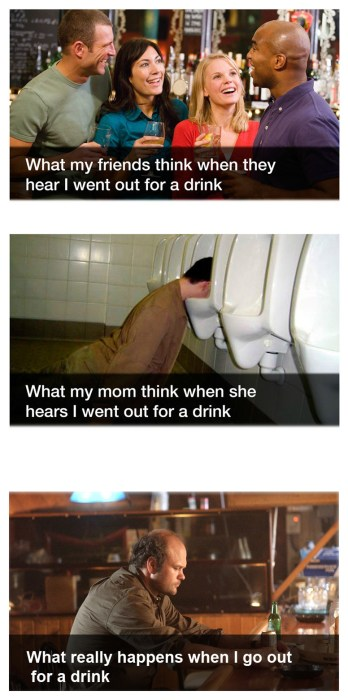 what happens when I drink