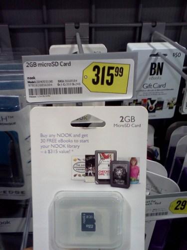 2gb microSD card