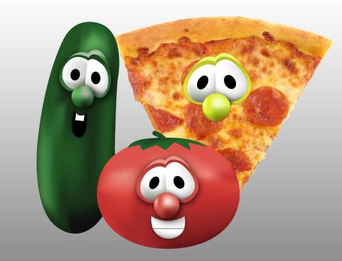 fruity tales - with pizza
