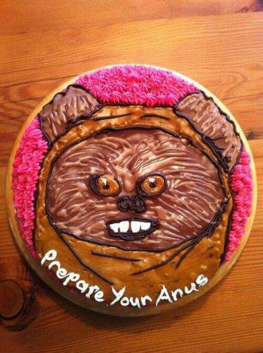 Prepare You Anus - Cake