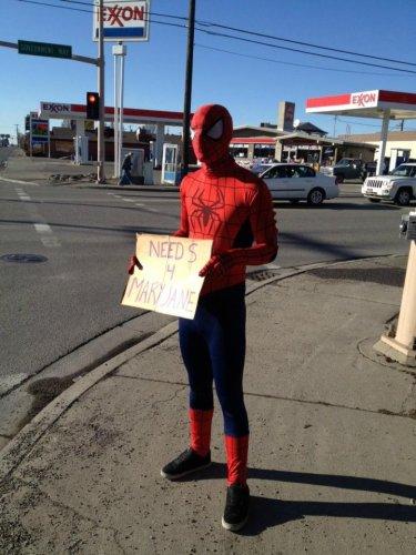spider-man needs money