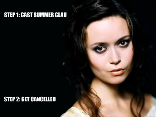 Casting Summer Glau