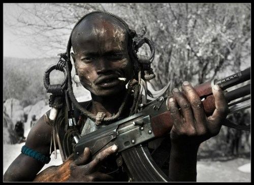 african soldier
