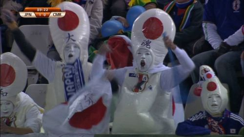 japanese sports fans