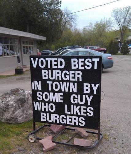 voted best burger