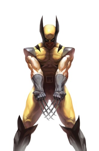 wolverine shows his claws