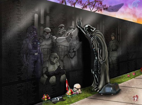 darth vader and the fallen