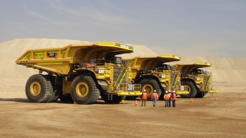 gigantic earth movers