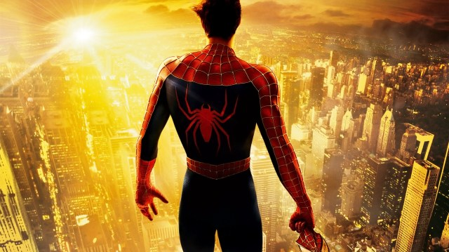 spider-man on top of the city with no mask.jpg