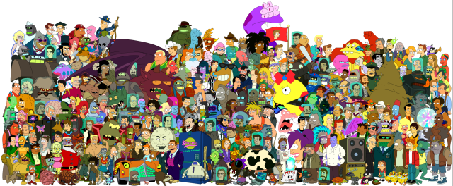 Futurama Cast.png