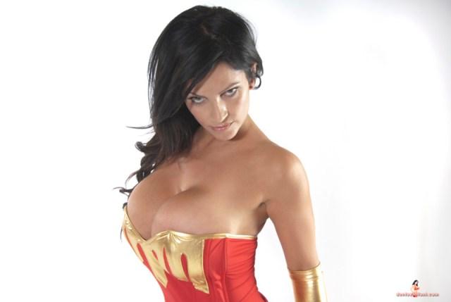 denise milani is a wonder woman (6)