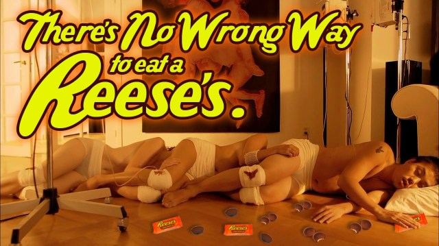 there's no wrong way to eat a reeses.jpg