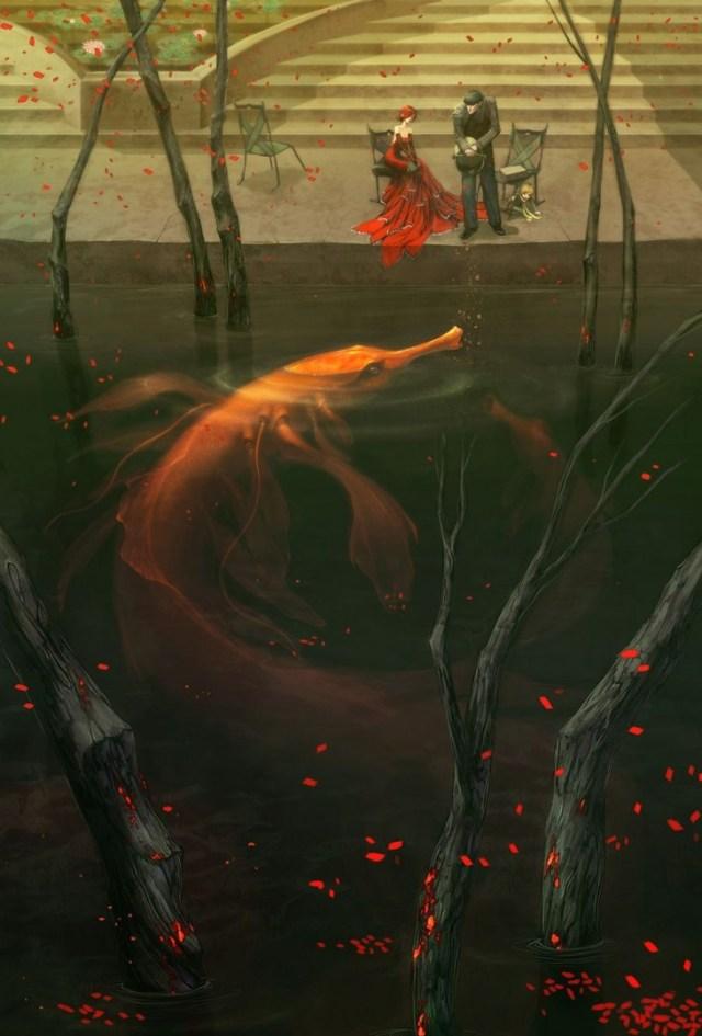 Red Dress Giant Fish.jpg