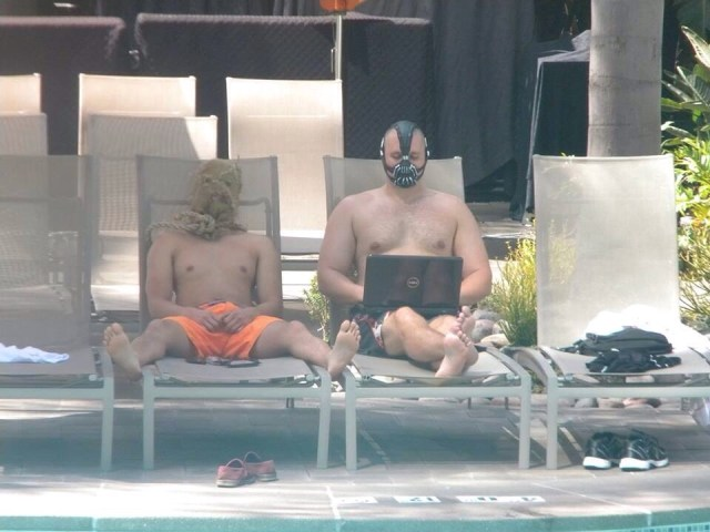 bane and scarecrow by the pool.jpg