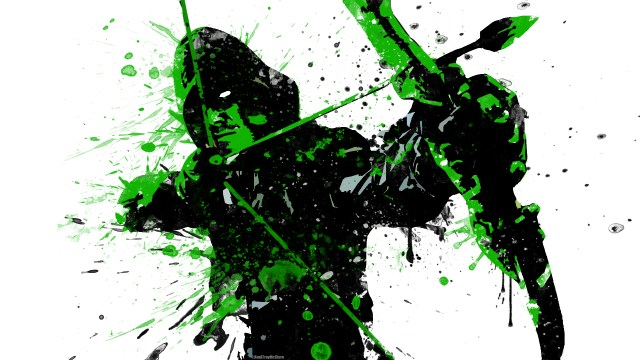 Splatter Arrow in Green.jpg