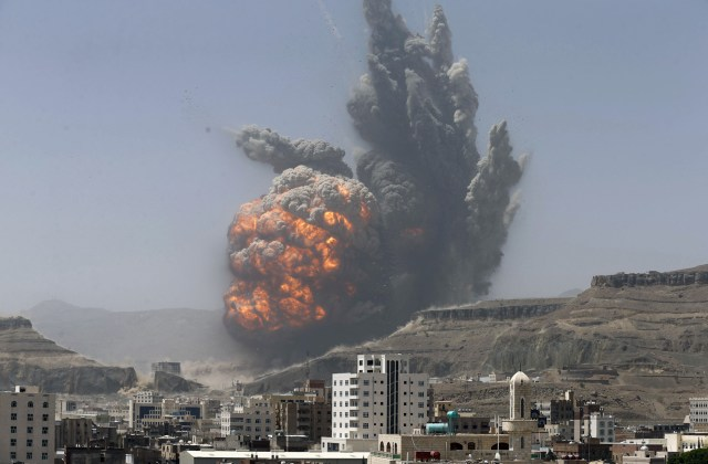 airstrike on an army weapons depot.jpg
