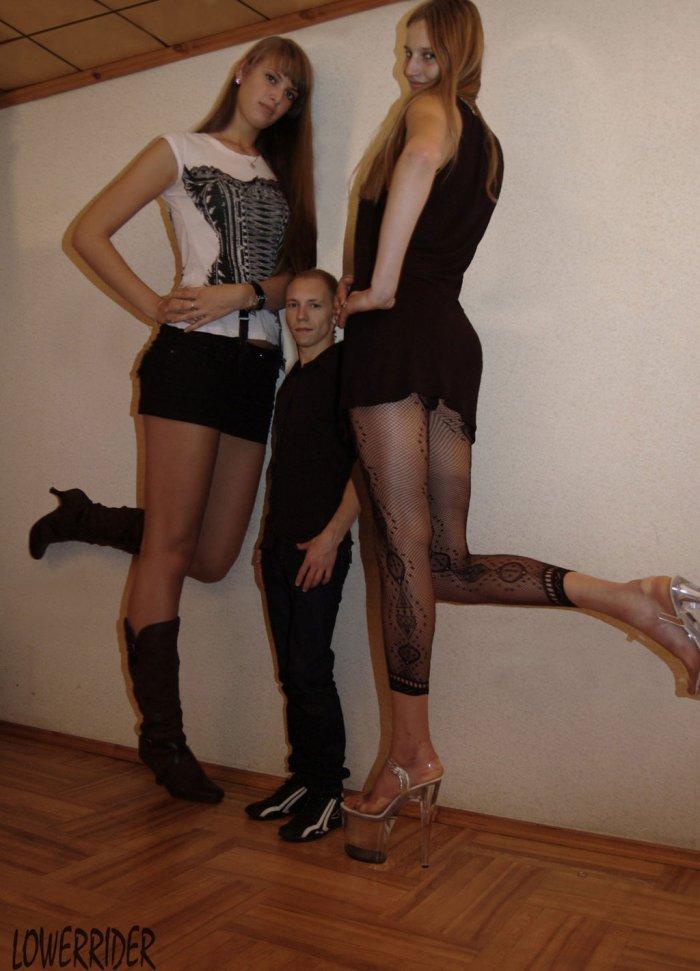 Tall girls and short man.jpg