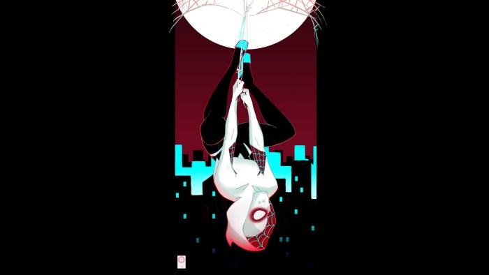 spider-gwen hanging upside down.jpg