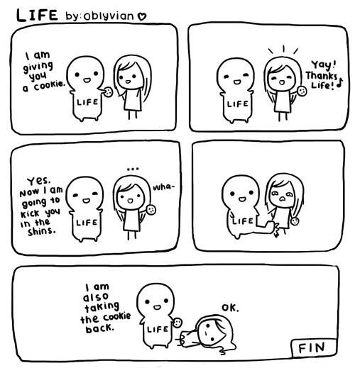life sux
