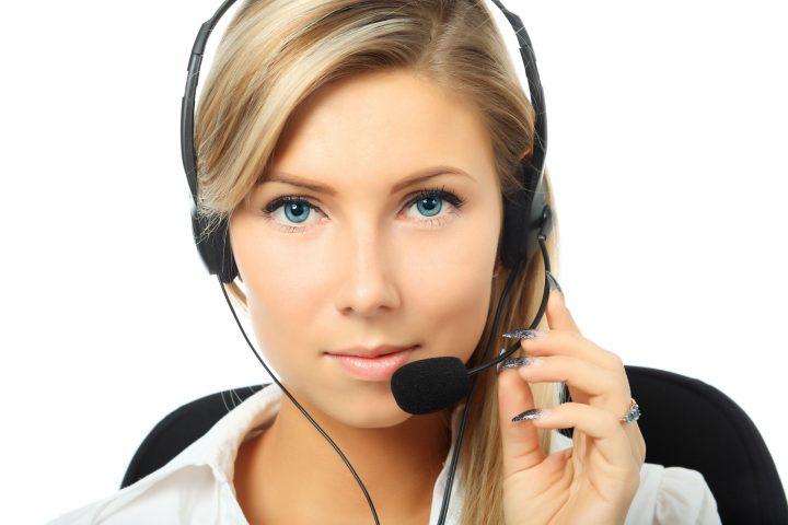 Beautiful Call Center Employee.jpg