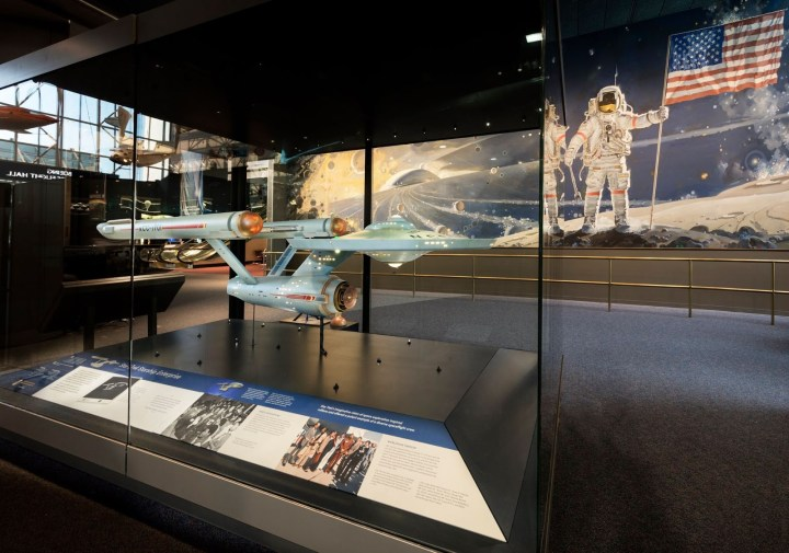 USS Enterprise studio model Smithsonian Institution National Air and Space Museum display.jpg