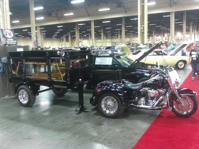 hearse motorcycle