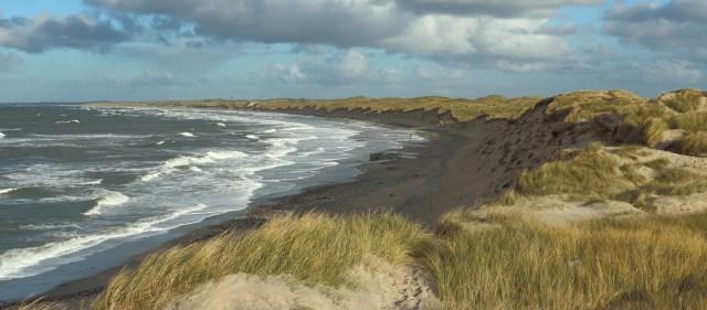 North Sea coastline at Nørre Vorupør, Denmark..jpg