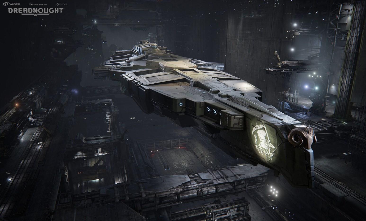 Dreadnought In Hanger