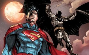 Superman and Batman arrive