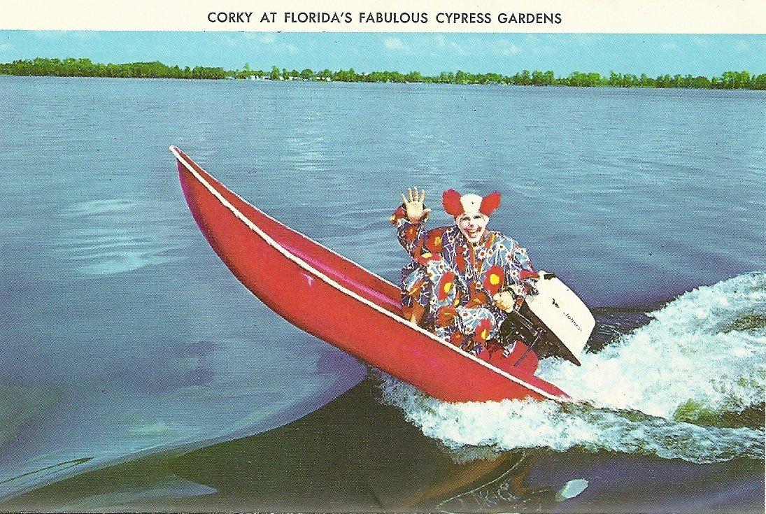 Corky At Florida's Fabulous Cypress Gardens