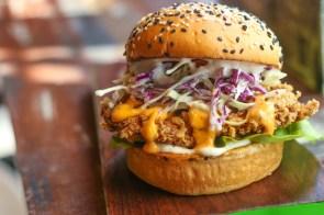 Tasty Fried Burger