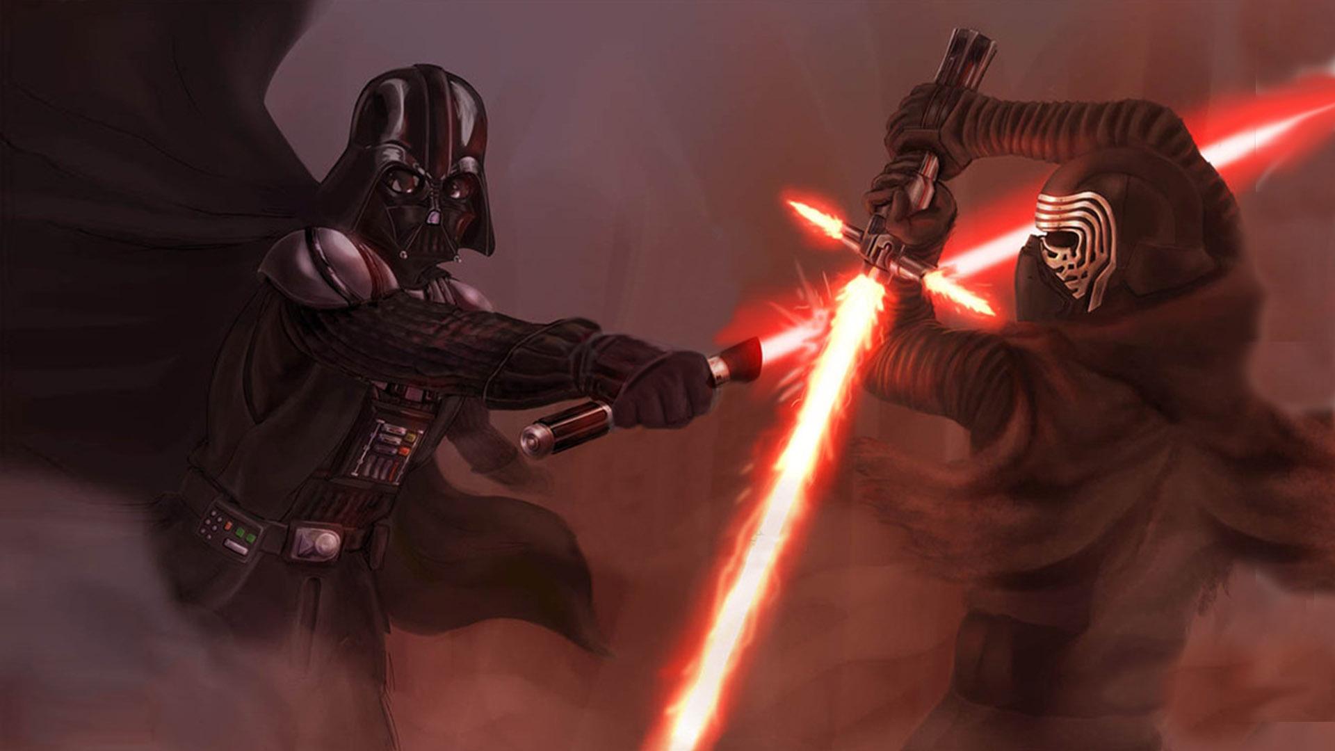 Vader Vs Kylo Ren Myconfinedspace