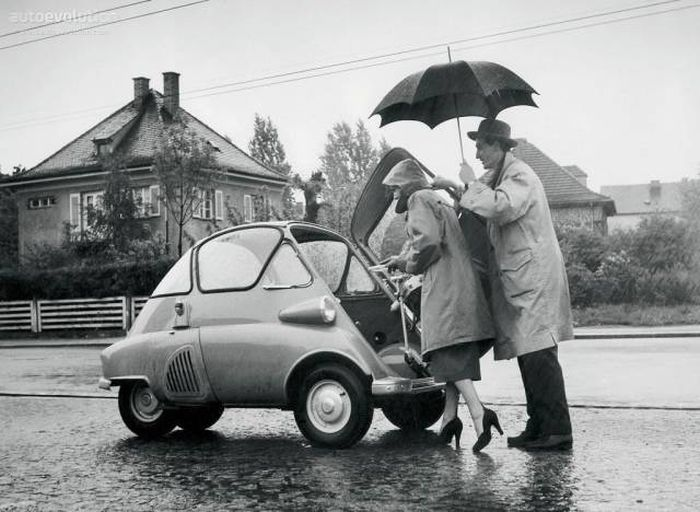 small car for a woman in high heels