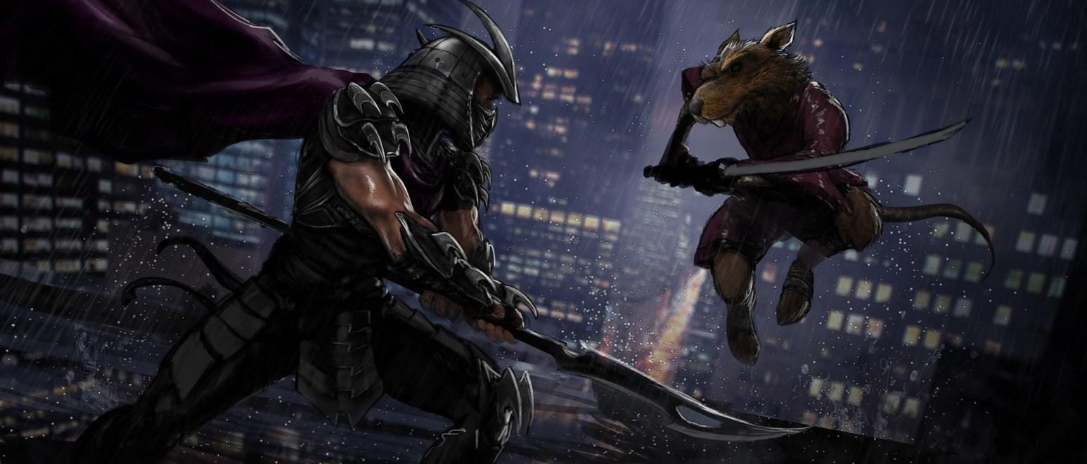 Shredder vs Splinter