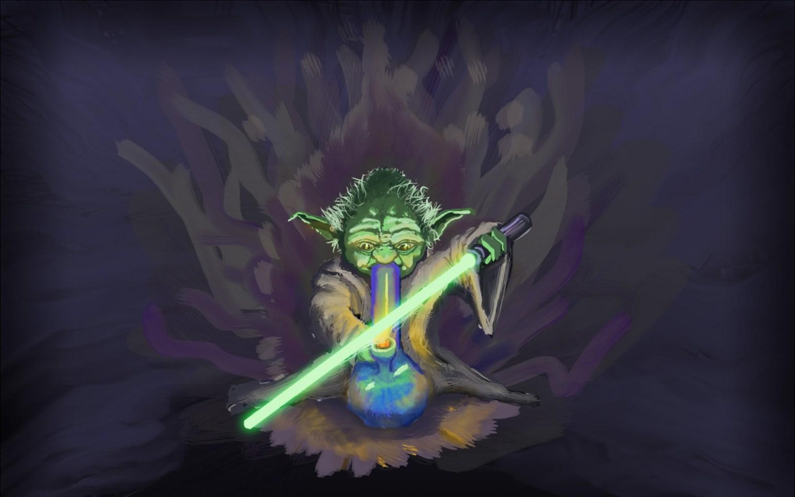Yoda smoker
