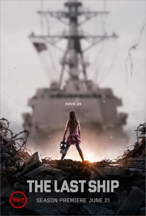 The Last Ship – Gas Mask Girl poster