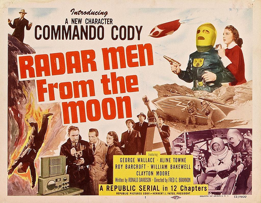 Radar Men From The Moon Introducing Commando Cody