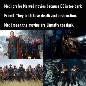 DC is too dark