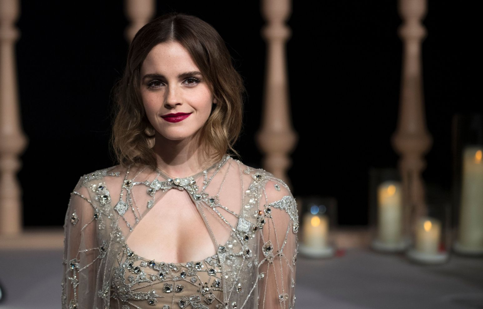 emma watson in the beauty and the beast premiere in shanghai hd