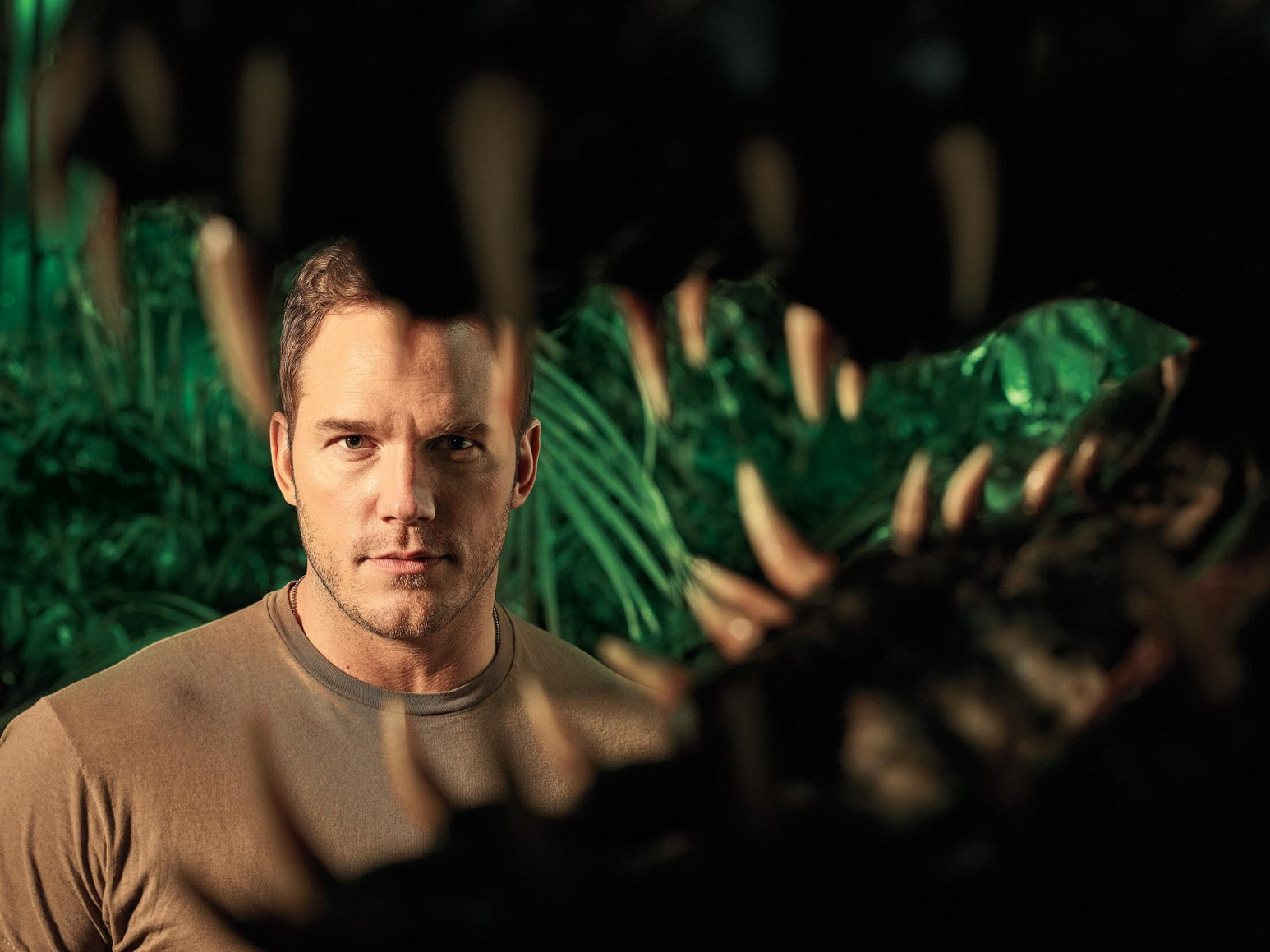 chris pratt jurassic world fallen kingdom in entertainment weekly lz