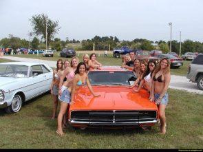 Dukes of Hazzard County Bikini Wash