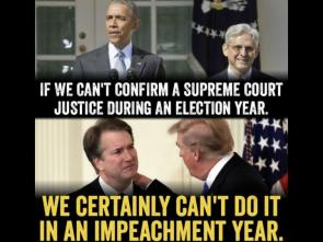 If we can't confirm a supreme court justice during an election year…