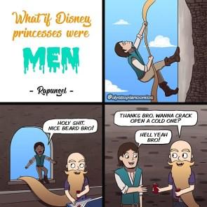 Rupunzel as a Man