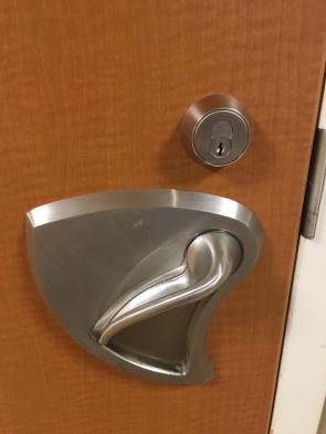 The doors in this psyche ward