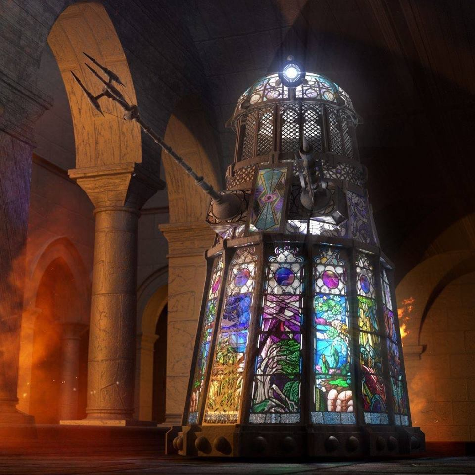 Stain Glass Dalek