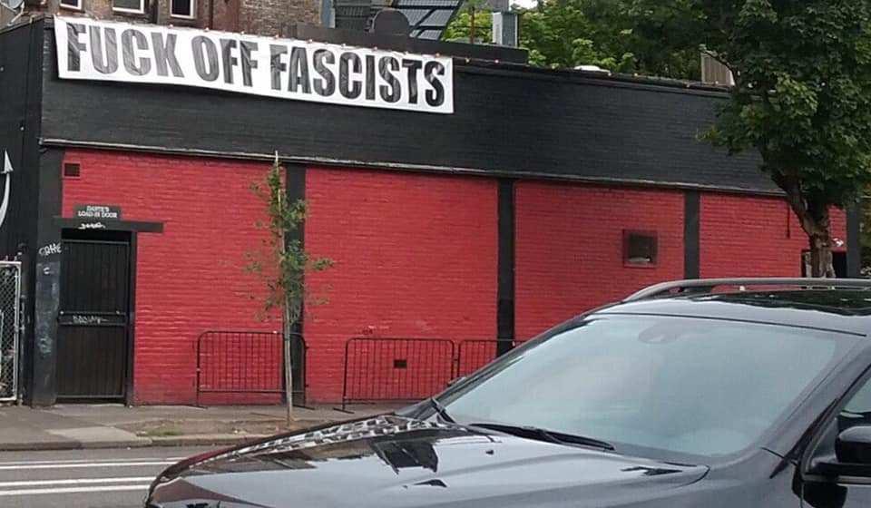 fuck off fascists