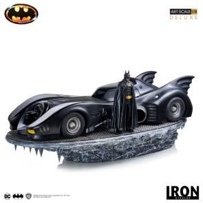 Iron Studios 89 Batmobile 110th Scale Official Pics – The Toyark – News