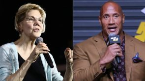 Elizabeth Warren and Dwayne Johnson's lovefest continued on last nights Ballers and on Twitter