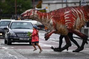 walking her dinosaur.jpg